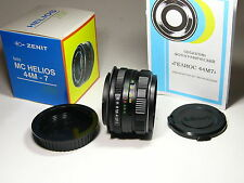 Helios-44m-7 2/58mm lens with Canon EOS mount.year of production: before 1990