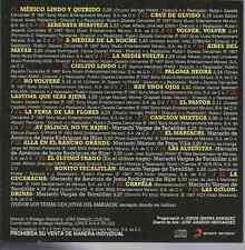 rare RANCHERA 60s 70s CD slip Mariachi Vargas de Tecalitlan MEXICO LINDO QUERIDO