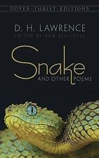 Snake and Other Poems (Dover Thrift Editions) by D.H. Lawrence