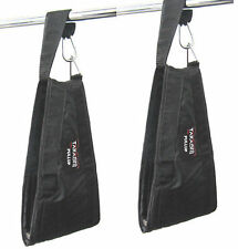 HANGING AB STRAPS/SLINGS  Takashi Universal GOLD Gym Training Leg Raising