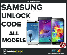 Unlock Code Samsung Galaxy S3 S5 S6 S7 Note  3 4 5 Alpha Core Neo Bell Virgin