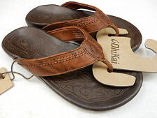 OLUKAI MENS SANDALS HIAPO RUM DARK JAVA SIZE 9