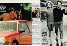 Coupure de Presse Clipping 1997 (2 pages) Farrah Fawcett et Ryan O'Neal