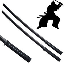 "2pc Set - 40"" Wood Samurai Bokken Swords - Training Practice Sword Kendo Daito"