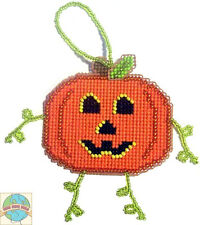Cross Stitch Kit ~ Halloween Jack-O-Lantern Pumpkin Buddy #K006
