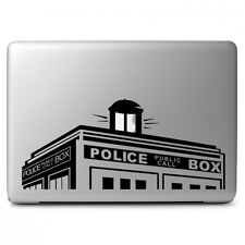 Police Box Doctor Who for Macbook Air / Pro 13 inch Laptop Vinyl Decal Sticker