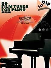 50 Film Tunes for Piano - Graded: Dip In Series-ExLibrary