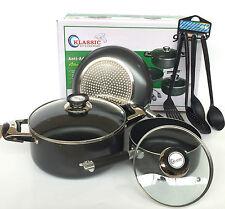 Poêlon sauce pan, poêlon casserole set, induction casseroles, poêle, induction pot