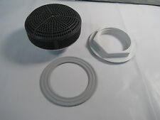 """CMP 25201-007-000 Spa Suction Cover 2-1/2"""" Slip EDPM Gasket 170 GPM Gray NEW"""