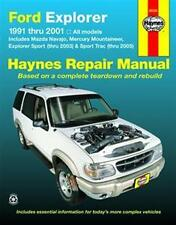 Haynes Repair Manual 36024 Ford Explorer 91-01 EXPLORER SPORT TRACK THRU '03