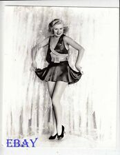 Ginger Rogers sexy leggy Photo from Original Negative
