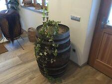 Holzfaß 225L Barriquefaß gebrauchtes Weinfaß Eichenfaß Stehtisch für Weinkeller