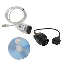 K-CAN D-CAN OBD2 USB Cable Ediabas INPA K Diagnostic Tool + 20Pin for BMW