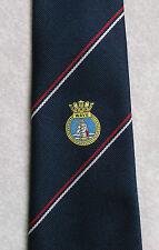 Cravate vintage + vague + maddocks & Dick régimentaire Navy association Club cravate années 70