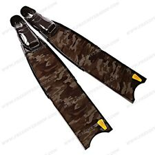 Leaderfins Carbon Camo Freediving Spearfishing Fins - ALL SIZES