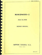 Nikon Nikonos II Service & Repair Manual