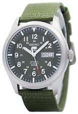 Seiko 5 Military Automatic Sports SNZG09 SNZG09K1  SNZG09K Mens Watch