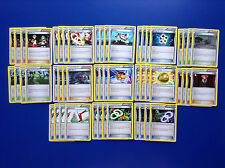 POKEMON x52 ANCIENT ORIGINS COMPLETE TRAINER CARD PLAYSET LUCKY HELMET LYSANDRE