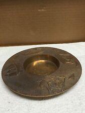 Korean Brass Plate/Candleholder