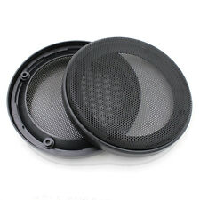 "2X 6.5"" Car Speaker Cover Coaxial Steel Mesh Grille Woofer Mask Protection 164MM"