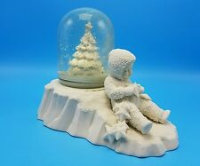 Department 56 Snowbabies All Tired Out Waterglobe Music Box NOS Retired