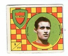 FIGURINA    CALCIATORI   VAV  1958-59    NR  239   PULIAFITO     MESSINA