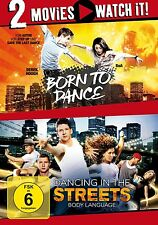 BORN TO DANCE/DANCING IN THE STREETS 2 DVD NEU