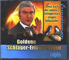 Goldene  Schlager- Erinnerungen - Volkslieder - Reader's Digest  3 CD Box