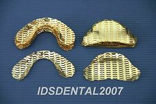 100 Pcs Dental Gold Plated Denture Mesh Strengthener NEW (Buy 5, Get 1 FREE)