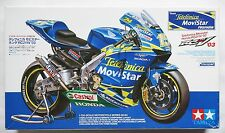 TAMIYA 1/12 Telefonica Movistar Honda RC211V 2003 MotoGP model kit box damaged