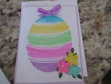 Stampin Up Easter Greeting Colorful Egg Handmade Card