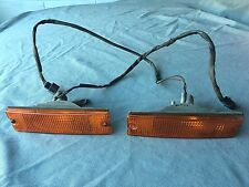 Mazda Rx7  S4 Factory Left & Righ Front Bumper Light Lense Assembly 1986 To 1988