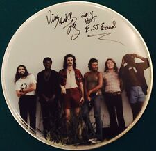 Vini Mad Dog Lopez Signed Autographed Inscrib. E St. Drumhead Bruce Springsteen