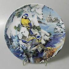 Hutschenreuther Wandteller Vögel im Winter Bradex 19,5 cm