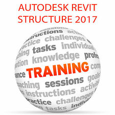 Autodesk Revit para estructura 2017 (imperial) - Video Tutorial DVD de entrenamiento