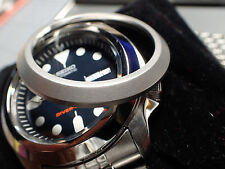 THE-ABSOLUTE-SIMPLE-ONE-SATINE - CUSTOM BEZEL FOR SEIKO SKX007/09 DX-09-XS