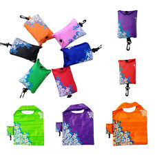 Handy Foldable Shopping Bag Reusable Tote Pouch Recycle Grocery Handbag Random