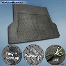 Trunk Cargo Floor Mats for SUV Van Truck All Weather Rubber Auto Liners