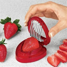 Fruit Strawberry Cutter Knife Simply Strawberry Slicer Home Kitchen Accessories