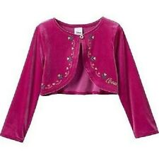 Disney's Frozen By Jumping Beans Anna Pink Long Sleeve Shrug Size 3T