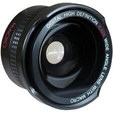 Super Wide HD Fisheye Lens For Sony HDR-XR550V HDR-CX550V