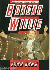 Boxcar Willie Concert Program 1985 British Tour  Country Singer  Indigo Lady