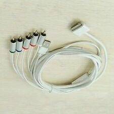 1PC 1.8M HD AV Cable Cord Connection to HD TV For Apple iPhone iPad iPod Series