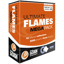 FLAMES  CLIPART-VINYL CUTTER PLOTTER IMAGES-EPS VECTOR CLIP ART GRAPHICS CD