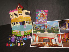 Disney Sofia The First Castle Figures Playmat & Book  Huge Toy Lot