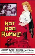 HOT ROD RUMBLE 1950'S MOVIE. DVD.