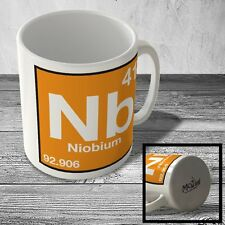 MUG_ELEM_066 (41) Niobium - Nb - Science Mug