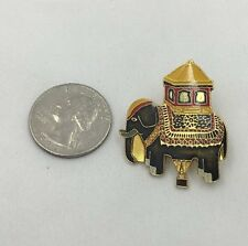 Malcolm Forbes Hot Air Balloon Elephant Pin