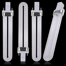 4 x 9W New Nail Art UV Machine Lamp Dryer Tube Light Bulb Fit CND Shellac