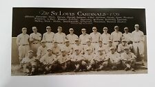 Trolley-sized Panorama Picture of the 1926 St. Louis Cardinals Baseball Team